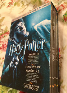 Harry Potter Widescreen DVD Box Set - 6 Movies