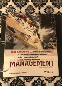 Uottawa management kijiji in ontario buy sell save with management third canadian edition schermerhorn wright fandeluxe Gallery