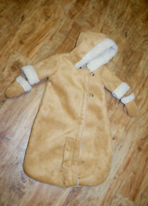 Baby Gap Suede Snow suit (0-3 months), never used.