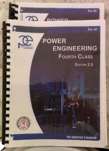 Power Engineering 4Th Class all Books - (Burnaby)