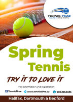 Adult Group Tennis Lessons