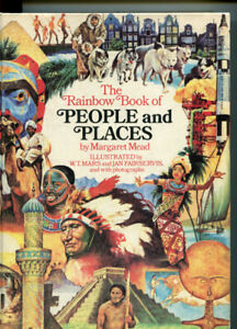 RAINBOW BOOK OF PEOPLE & PLACES * MARGARET MEAD * HARDCOVER