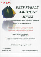 Amethyst Mines - Collect Your Own