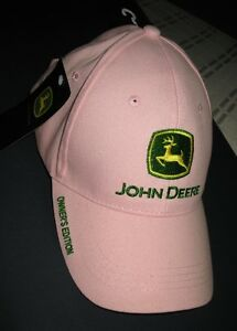 New Pink John Deere Hat - Owners Edition with Back Strap