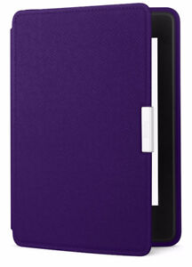 Amazon Kindle Paperwhite Leather Cover - Royal Purple - NEW