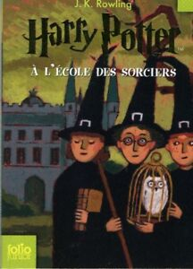 HARRY POTTER (FRENCH) #1, 2, 3, 4, 5, 7