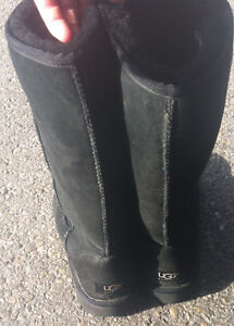 Tall black uggs looking to trade for short tan uggs