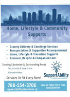 Seniors Support Services by SupportAbility