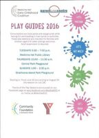 Play Guides- Free Play Sessions 0-6