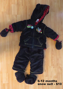Baby winter jackets and more