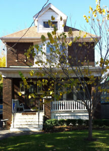 GAGE PARK AREA DUPLEX: ONE BEDROOM WITH 2-ROOM OFFICE/LOFT