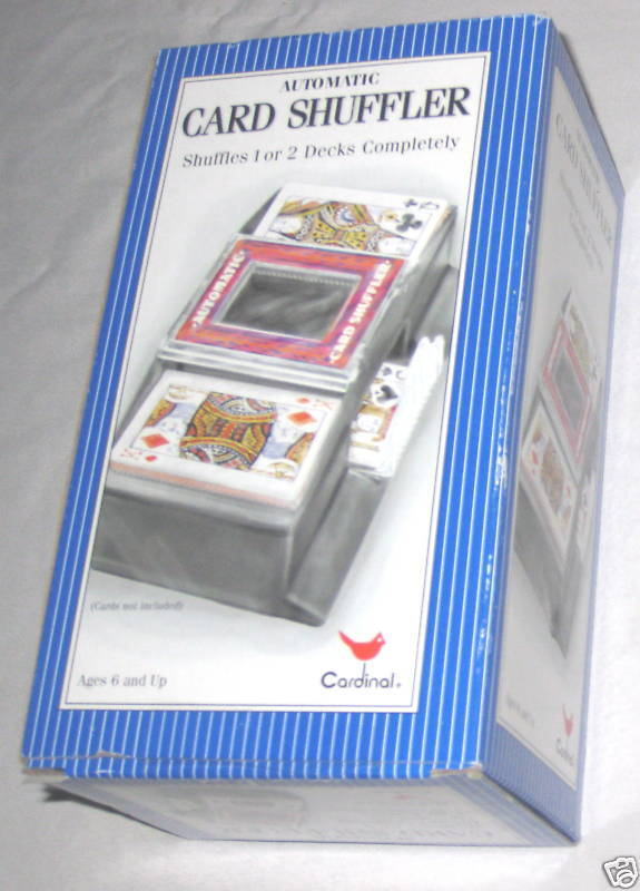 Cardinal Battery Operated 2 Deck Card Shuffler