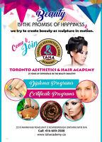 BEAUTY COURSES  -TORONTO AESTHETICS AND HAIR ACADEMY