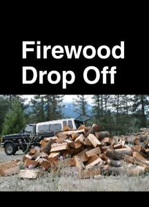 Firewood drop off