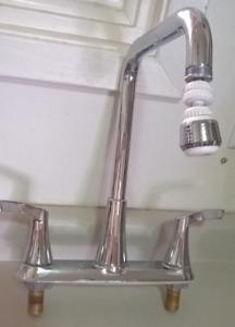 Moen Stainless 2-Handle Deck Mount High-Arc Kitchen Faucet