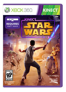 XBox 360 Kinect Games - Star Wars & Adventures