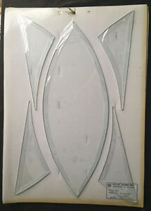 2 Panel set Beveled Glass cluster  ( LE-BEG-230)