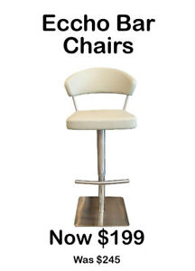 Heavy Duty Stainless Steel Bar Stools-Brand New