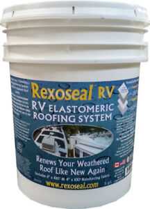 RV Camper Roof Repair System