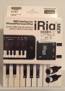iRig MIDI (Gen 1)-Midi interface for iPhone iPad and iPod Touch