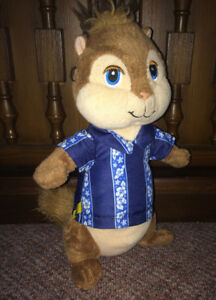 "Alvin & The Chipmunks ""Simon"" Plush Stuffed Bear 11"" Tall"