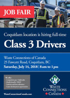 Class 3 Driver - Job Fair, July 14