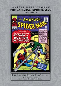 Marvel Masterworks Amazing Spider-Man Vol 1-2-3-4-5-7-8 Like new