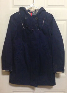 Fashionable, Hooded Raincoat from H&M for Sale (size 4)
