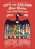 CITY AND COLOUR & BLUE RODEO, THE STRUMBELLAS,  DEAR ROUGE