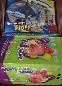 Air Swimmers Flying Shark with Helium Tank