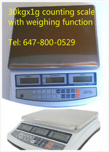new 30kgx1g digital counting scale with weighing function