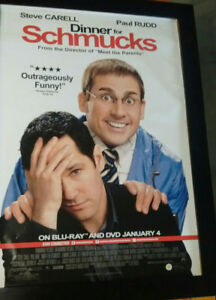 DINNER WITH THE SCHMUCKS OFFICIAL STUDIO POSTER