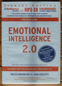 Audio Book CD: Emotional Intelligence 2.0