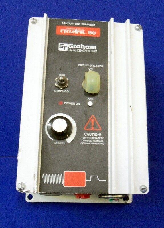 GRAHAM MOTORS & CONTROL CYCLETROL 15 DC CONTROLLER 176B6000 *PZF*