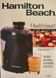 Hamilton Beach Juice Extractor