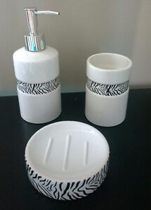 Bathroom Accessories (Soap Pump/Dish and Cup)
