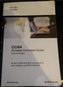 Livre Cisco CCNA (Portable Command Guide et Cert Guide Library)