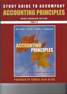 Study Guide to Accompany Accounting Principles - Third Canadian