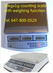 only $ 160 for brand new 66 lbs digital counting/weighing scale