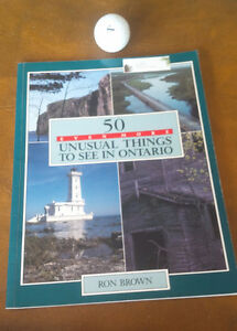 2 Books; Life in Ontario, 50 Even More Unusual Things Ontario Kitchener / Waterloo Kitchener Area image 3