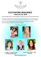 CULTIVATING RESILIENCE- A One Day Conference