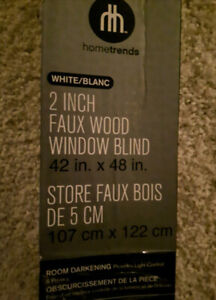 "Brand new Blinds 42"" x 48"""