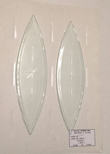 Beveled Glass cluster   Stained glass