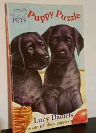 Puppy Puzzle Book by Lucy Daniels (Paperback, 1996) Animal Ark Pets