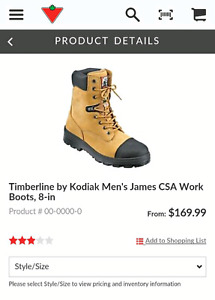 Steel toed NEW Kodiak work boots size 9. Asking $80. they go for