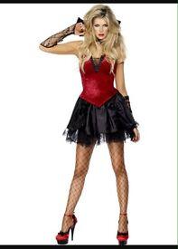 Ladies brand new vixen vampire Halloween costume outfit size medium