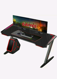 New Gaming Desk, Arespark Gaming Computer Table, Home Office,study