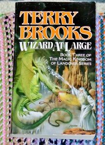 Landover Ser.: Wizard at Large 3 by Terry Brooks (1989, Paperbac
