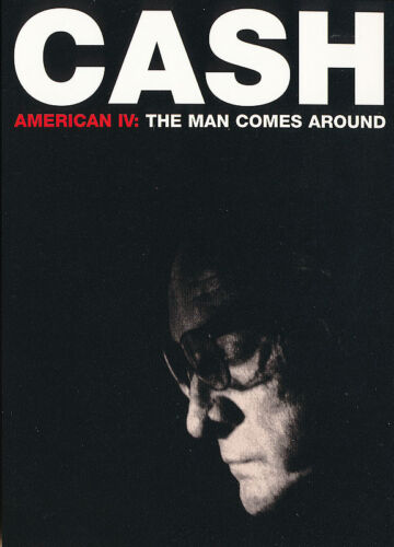 Johnny Cash American IV: The Man Comes Around RARE promo postcard 2002