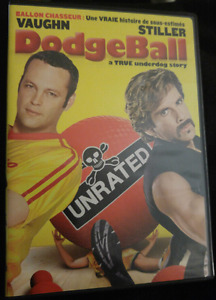 DVD Movie - Dodgeball unrated version